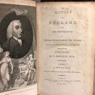 T. Smollett - The History of England from the Revolution...