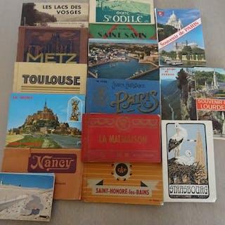 Städte und Landschaften - Album mit Postkarten (16 Alben...