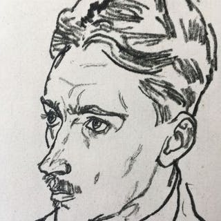 Egon Schiele (1890 - 1918) - Dr. F. M. Haberditzl - 1917