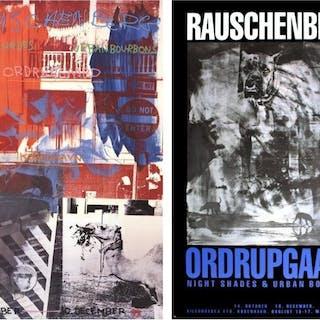 Robert Rauschenberg - 2 Assorted Robert Rauschenberg Posters - 1990s