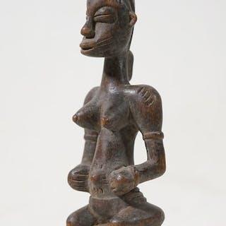Scultura - Legno - Senufo - Costa d'Avorio