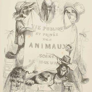 J. J. Grandville - Scènes de la vie privée et publique des animaux - 1842