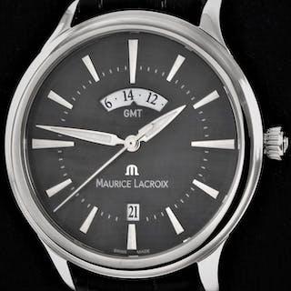 """Maurice Lacroix - """"NO RESERVE PRICE"""" Les Classiques GMT - Ref"""