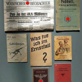 Deutsches Reich - Arbeits-Lieder-Anleitungsbücher - 1939