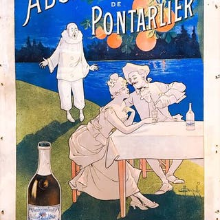 Marcellin Auzolle - Absinthe de Pontarlier- 1900s