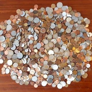 Welt - Partij diverse munten (ca. 7 Kilo)