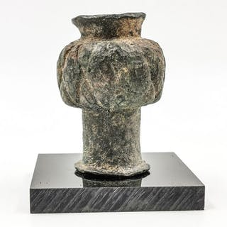 Ancient Bronze Age - Luristan - Bronze Mace Head