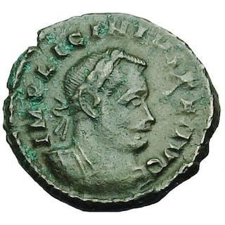 Römisches Reich - Ae Follis,Licinius I (308-324 AD). C, 314-315 AD, London Mint