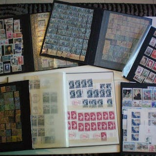 Francia e Monaco 1860/1985 - A bulk batch of stamps from France and Monaco