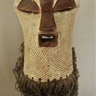 Maschera (1) - Legno - Kifwebe - Songye - Repubblica Democratica del Congo