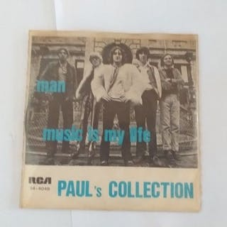 "Paul 's Collection- ""Man"" b/w ""Music Is My Life"" - 7″-Single - 1970"