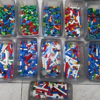 """LEGO - Assorti - 2,8 kg (netto) Lego """"klassische"""" Steine und Dachziegel"""