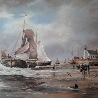Jac Bekers (1944-2016) - Katwijk aan zee