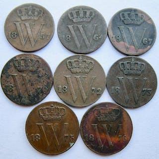 Die Niederlande - ½Cent1857