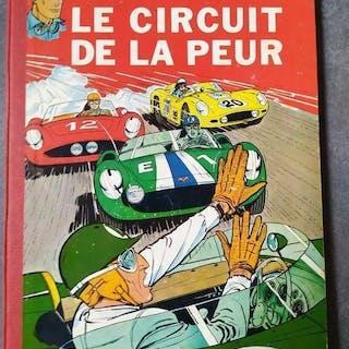 Michel Vaillant T3 - Le Circuit de la peur - C - Erstausgabe - (1961)