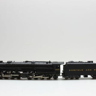 Rivarossi N - 5513001 - Steam locomotive with tender...
