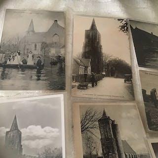 Paesi Bassi - Città e Paesaggi - Zelanda - Cartoline (partito di 80) - 1903-1970