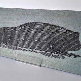 Dekoratives Objekt - Gurrado automotive art - AUDI A5 SPORTBACK - 2019