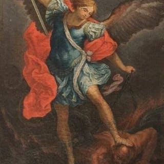Anonimo (da Guido Reni) - San Michele Arcangelo