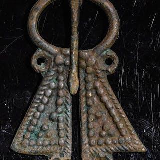 Medieval Viking Era Bronze Penannular Brooch