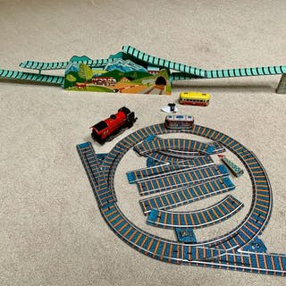 Kovab/Hornby - Lot Vintage - Train Railwaysets - Uhrwerk...