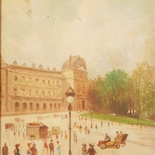 Oscar Ricciardi (1864-1935) - Le Louvre, Paris