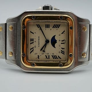 Cartier - Santos Galbee Moonphase - Ref. 119901 - Men - 2000-2010