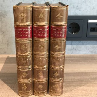 Henry Hallam - Constitutional History of England - 1876