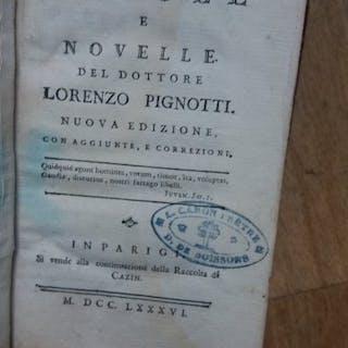 Lorenzo Pignotti  - Favole e novelle del Dottore Lorenzo Pignotti - 1786