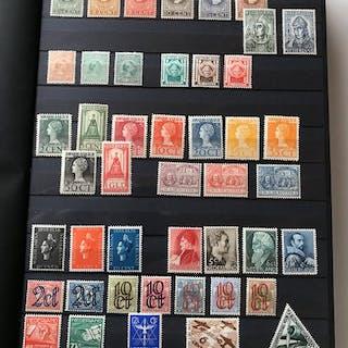 Niederlande 1891/2004 - Stock book with stamps, blocks, sheetlets, booklets