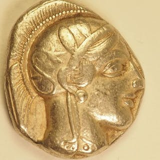 Greece (ancient) - Attique, Athènes. Tétradrachme, 454-404 av J.-C. - Silver
