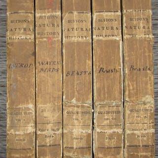 Georges Louis Le Clerc Comte de Buffon - 5 volumes from...