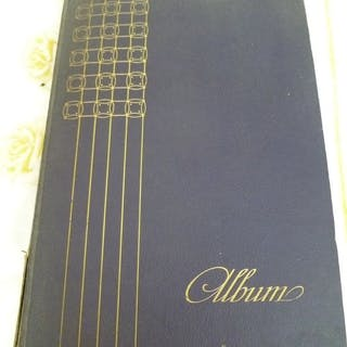 Im Ausland - Europa - Album mit Postkarten (Sammlung von 204) - 1905-1960
