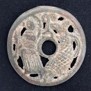 China - Æ Amulet / Charm coin - Song dynasty (c.a