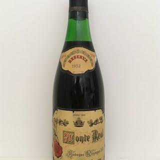 1952 Monte Real, Bodegas Riojanas - Rioja Reserva - 1 Normalflasche (0,75 Liter)