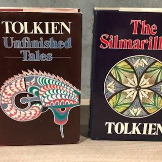 J.R.R. Tolkien - Die Silmarillion + Unvollendete Geschichten - 1977/1980