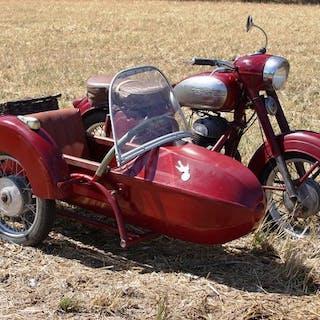 Jawa - Model 354 - Falke Sidecar - Twin - 350 cc - 1959
