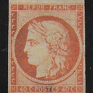 Frankreich 1850 - 40 C. Cérès - Yvert 5