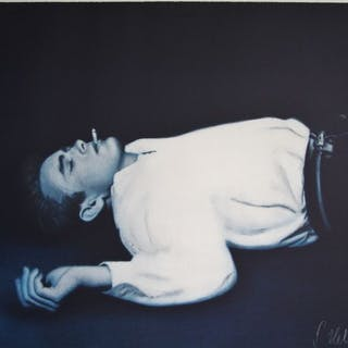 "Gottfried Helnwein (1948-)- ""James Dean"" 1991"