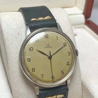 Omega - Jumbo 38 mm Military Style Vintage Watch- 30 T2 SC - Men - 1901-1949