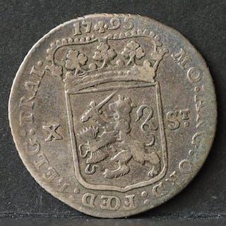 Niederlande - Utrecht - Halve Generaliteitsgulden van X...