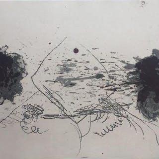 Antoni Tàpies - Composition Symetrique