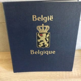 Belgien 1981/1990 - Collection in a Davo album