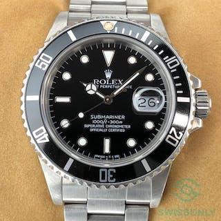 "Rolex - Submariner Date, Very Rare ""Zorro"" Dial - 168000 - Men - 1980-1989"