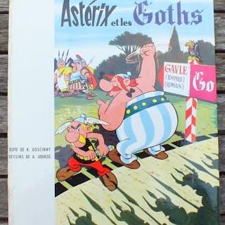 Asterix T3 - Astérix et les Goths - C- Erstausgabe - (1963)