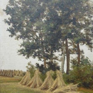 AtelierJohannes Gerardus Marie Egelie (1852-1907) - Korenschoven