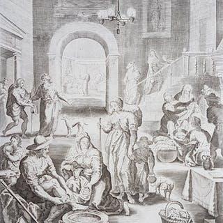 David Custos (c.1600) - Scene in palace