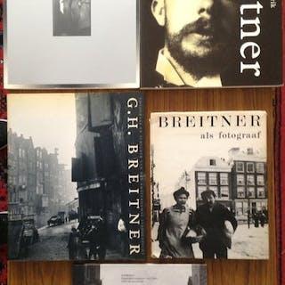 G. H. Breitner - Lot met 5 boeken van deze fantastische...