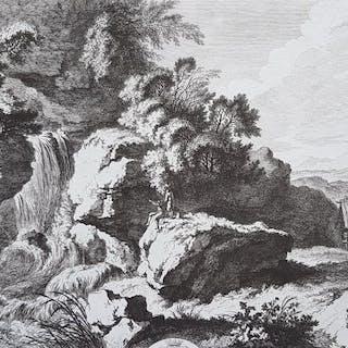 Franz Edmund Weirotter (1733-1771) - Chute d'Eau