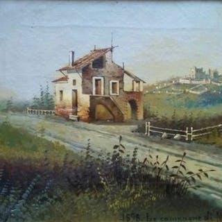 (Attr. a) Achille BefaniFormis (1832 -1906) - Le campagne di Napoli